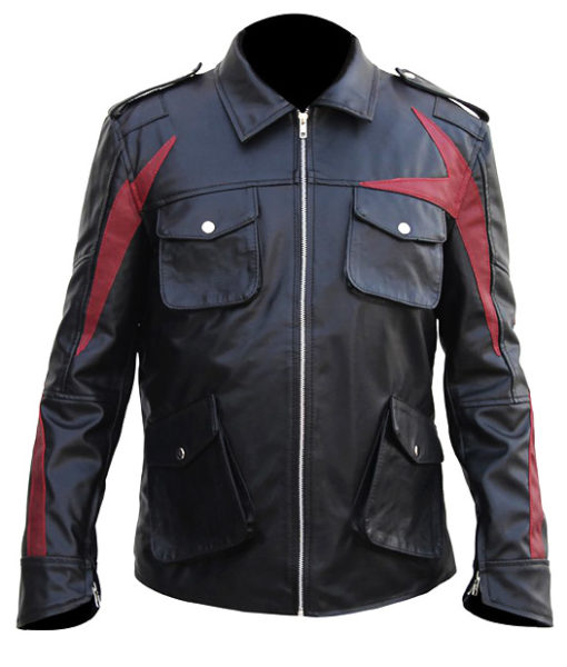 Men's Prototype 2 Leather Jacket front