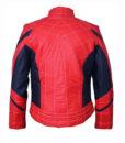 New Spider Genuine Leather Jacket back