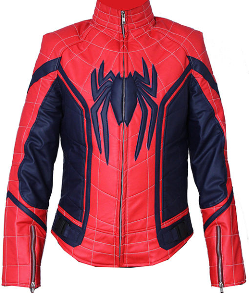 New Spiderman homecoming Jacket front