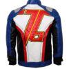 Soldier 76 Leather Jacket Back