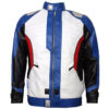 Soldier 76 Leather Jacket Front