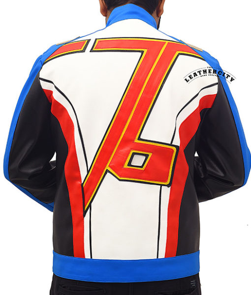 Soldier-76 jacket – back with 76 logo