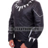 black panther jacket – left side