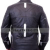 black panther leather jacket – back design