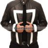 Agents of Shield Ghost Rider Jacket. Front Open