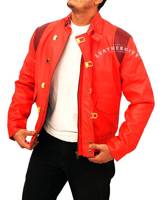 Akira Kaneda Red Capsule Leather Jacket Theleatehrcity Com