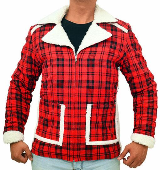 Deadpool Ryan Reynolds Red Jacket front