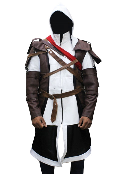 Edward Kenway Assassin S Creed 4 Leather Costume Coat Authentic