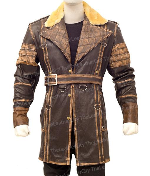 Elder Maxson Leather Coat