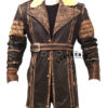 Elder Maxson Leather Jacket Coat front