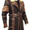 Elder Maxson Leather Jacket Coat right