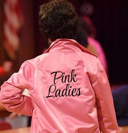 Pink Ladies Jacket - Authentic Leather Jackets and Accessories ...