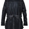Elder Maxson Black Coat Back