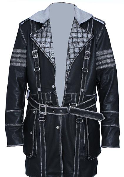 Elder Maxson Black Coat Front