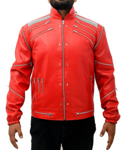 Michael Jackson Beat It Leather Jacket