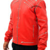 Red-Michael-Jackson-Beat-It-Leather-Jacket-left