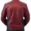 The Flash Season 2 Jay Garrick Leather Jacket BAck