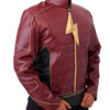 The Flash Season 2 Jay Garrick Leather Jacket Left