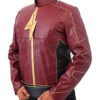 The Flash Season 2 Jay Garrick Leather Jacket Right