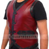 The Warrior Vest Leather Jacket Right