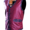 Warriors Leather Vest New Design right