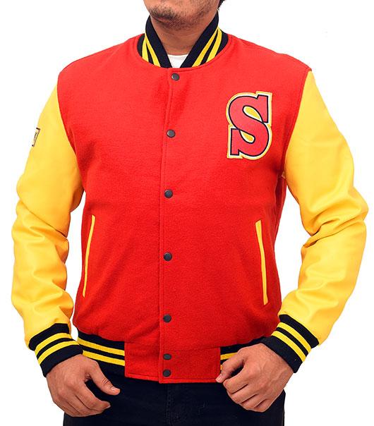 Clark Kent Crows High School Varsity Jacket from Smallville