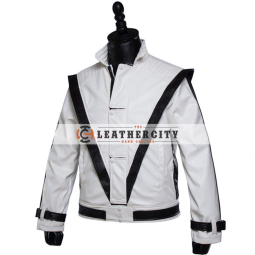 Michael Jackson White Thriller Jacket