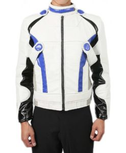 Mass Effect Andromeda: Liam Kosta White Leather Jacket