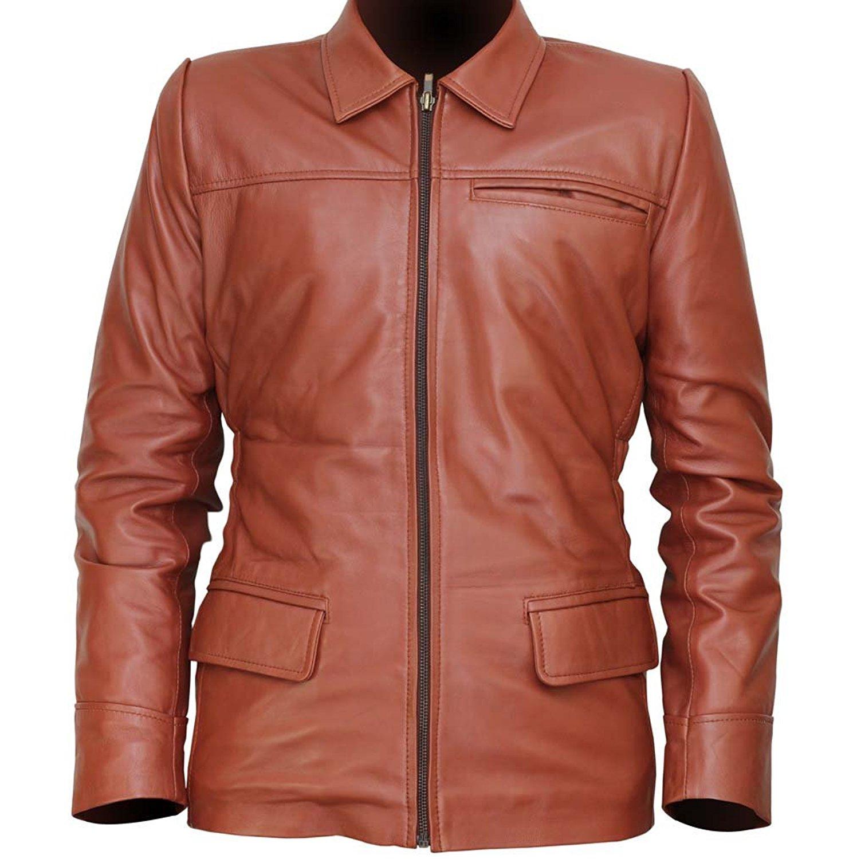 Hunger games leather jacket