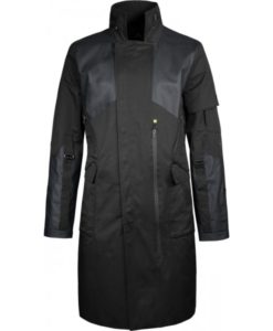 Adam Jensen Human Revolution Long Trench Coat