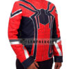 Avengers Infinity War Spiderman Armored Costume Jacket Left