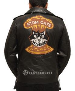 Atom Cat Leather Jacket