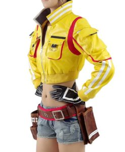 Final Fantasy XV Cindy Aurum Leather Jacket