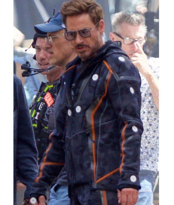 Tony Stark Hooded Jacket