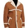 Kingsman_Harry_Hart_Brown_Shearling_Coat front