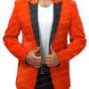 Kingsman's Taron Egerton Orange Tuxedo (2)
