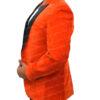Kingsman's Taron Egerton Orange Tuxedo (3)
