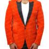 Kingsman's Taron Egerton Orange Tuxedo (5)