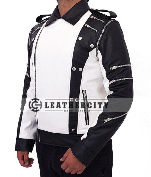 Michael Jackson Pepsi Leather Jacket Left Side