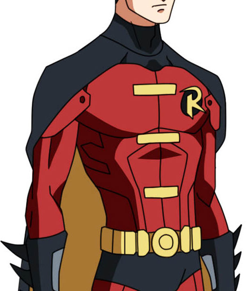Batman Robin Jacket Tim Drake Red Amp Black Leather Jacket