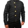 Akira Capsule Black Leather Jacket left
