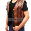 Dundee Crocodile Leather Vest Right