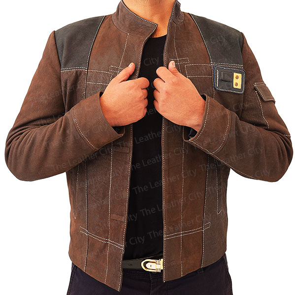 Han Solo Suede Leather Jacket