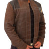 Han Solo Suede Leather Jacket Left