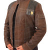 Han Solo Suede Leather Jacket Right