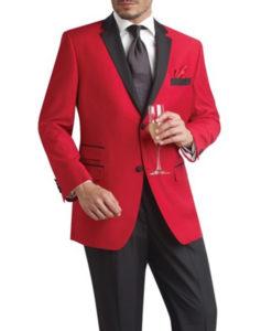 Majestic Red Tuxedo