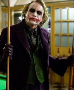 The Dark Knight Joker Purple Coat