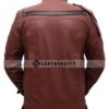 Avengers Infinity War Star Lord Leather Jacket Back