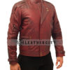 Avengers Infinity War Star Lord Leather Jacket Left