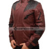 Avengers Infinity War Star Lord Leather Jacket Right